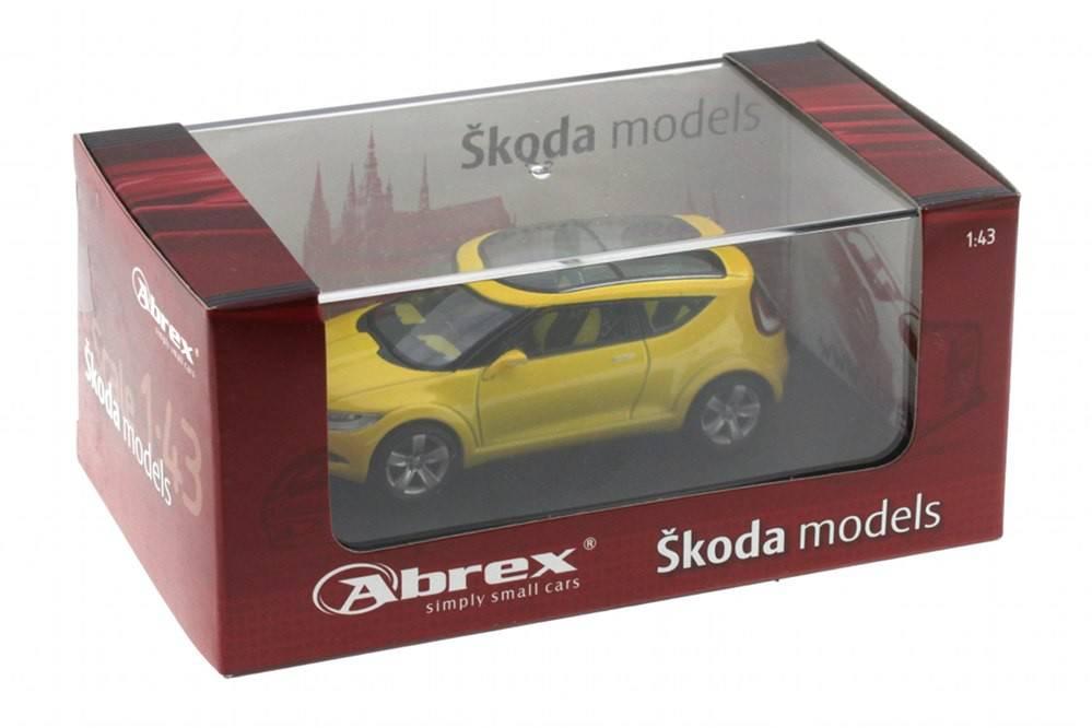 Skoda Joyster Concept Car 2006 Abrex Scale 143 Racing Modelismo