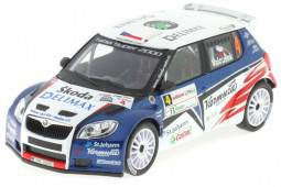 SKODA Fabia S2000 - No.4 Rally2010 - Valousek / Hruza - Abrex Scale 1/43