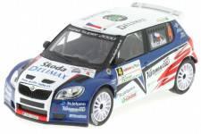 SKODA Fabia S2000 - No.4 Rally2010 - Valousek / Hruza - Abrex Escala 1/43