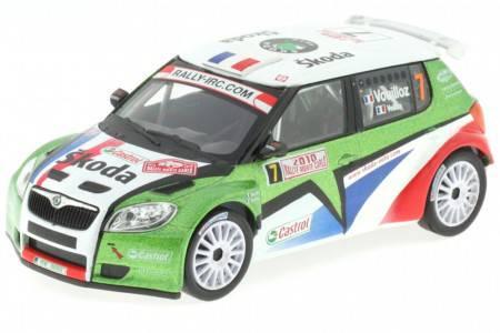 SKODA Fabia S2000 - No.7 Rally Monte Carlo 2010 - Vouilloz / Veillas - Abrex Scale 1/43