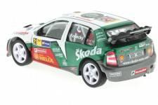 SKODA Fabia WRC Evo II - No.21 Rally Catalunya 2006 - Kopecky / Stary - Abrex Scale 1/43