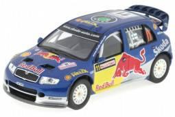 SKODA Fabia WRC Evo II - No.11 Rally Turkey 2006 - Rovanpera / Pietilai - Abrex Scale 1/43