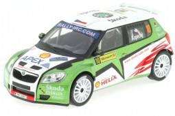 SKODA Fabia S2000 - No.10 Barum Rally 2009 - Kopecky / Stary - Abrex Scale 1/43
