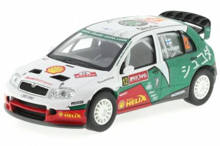 SKODA Fabia WRC Evo II - No.12 Rally Japan 2005 - Hirvonen / Lehtinene - Abrex Scale 1/43