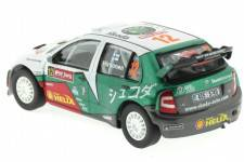 SKODA Fabia WRC Evo II - No.12 Rally Japan 2005 - Hirvonen / Lehtinene - Abrex Escala 1/43