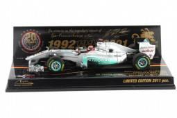 MERCEDES GP Colección Aniversario 20 años M. Schumacher 2011 - Minichamps Escala 1/43 (413110177)
