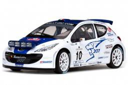 PEUGEOT 207 S2000 - Ganador Rally San Remo 2007 Rossetti / Chiarcossi - Sunstar Escala 1/18 (5434)