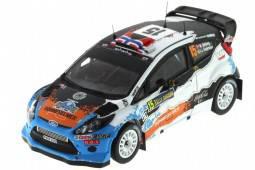 FORD FIESTA RS WRC - 3º Rally Sweden 2012 Ostberg / Andersson - Ixo Escala 1/43 (RAM505)