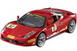 FERRARI 458 Challenge 2011 - Hot Wheels Escala 1:18 (BCT89)