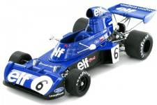 TYRRELL 006 - Formula 1 GP Bélgica 1973 Jacky Stewart - True Scale Escala 1:18 (TSM131810)