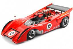 McLaren M8D - No.12 Can-AM Riverside 1971 Motschenbacher Racing - True Scale Miniatures Escala 1:18 (TSM121803)