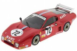 FERRARI BB512 - Le Mans 1982 Cudini / Morton / Paul - IXO Models Escala 1:43 (FER016)