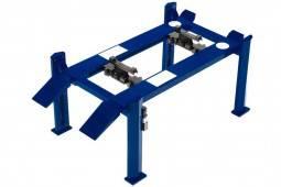 ELEVADOR de 4 Columanas para Taller Mecánico - Ajustable - Greenlight Escala 1:18 (12884)