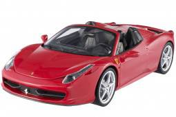 FERRARI 458 Italia Spider 2011 - Hot Wheels Elite Escala 1:18 (W1177)