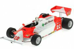 ALFA ROMEO 179C - GP Long Beach Formula 1 1981 M. Andretti - Spark Models Escala 1:43 (S3873)