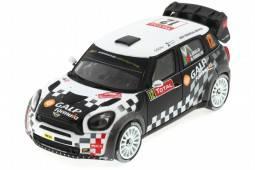 MINI Jhon Cooper Works - Rally Monte Carlo 2012 Araujo / Ramalho - Ixo Models Escala 1:43 (RAM496)