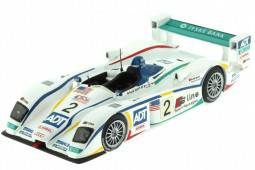AUDI R8 - 24h Le Mans 2005 Biel / Pirro / McNish - Ixo Models Escala 1:43 (LMM077)