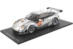 PORSCHE 911 (997) GT3 RSR 24h Le Mans 2013 Dempsey / Long / Foster - Spark Escala 1:18 (18S104)
