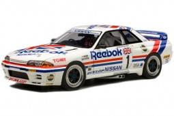 NISSAN Skyline GT-R R32 Grupo A 1990 Reebok Hasemi / Olofsson - Autoart Escala 1:18 (89078)