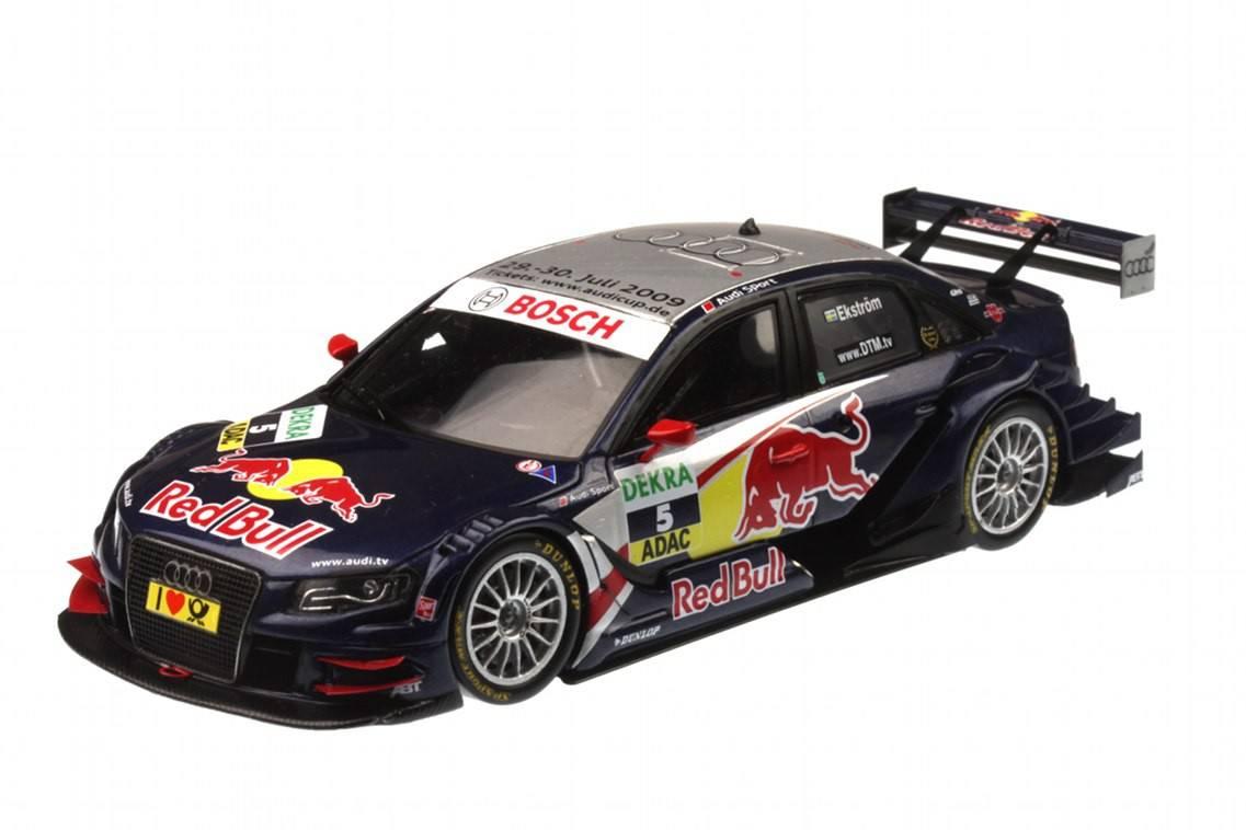 Audi a4 dtm n 5 2009 mattias ekstrom racing modelismo for Cascos motogp altaya