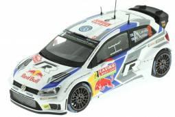 VOLKSWAGEN Polo R WRC Rally Monte Carlo 2014 Latvala / Anttila - Spark Escala 1:43 - Dealear Edition (6C0099300084)