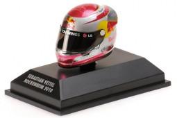 CASCO ARAI Sebastian Vettel Red Bull GP Hockenheim Campeon del Mundo F1 2010 - Minichamps Escala 1:8 (381100305)