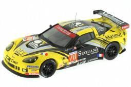 CHEVROLET Corvette C6 ZR1 Le Mans 2004 Belloc / Bourret / Gibon - IXO Models Scale 1:43 (LMM241)