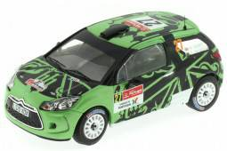 CITROËN DS3 R3 Rally Portugal 2011 Hunt / Mcphee - IXO Models Escala 1:43 (RAM461)