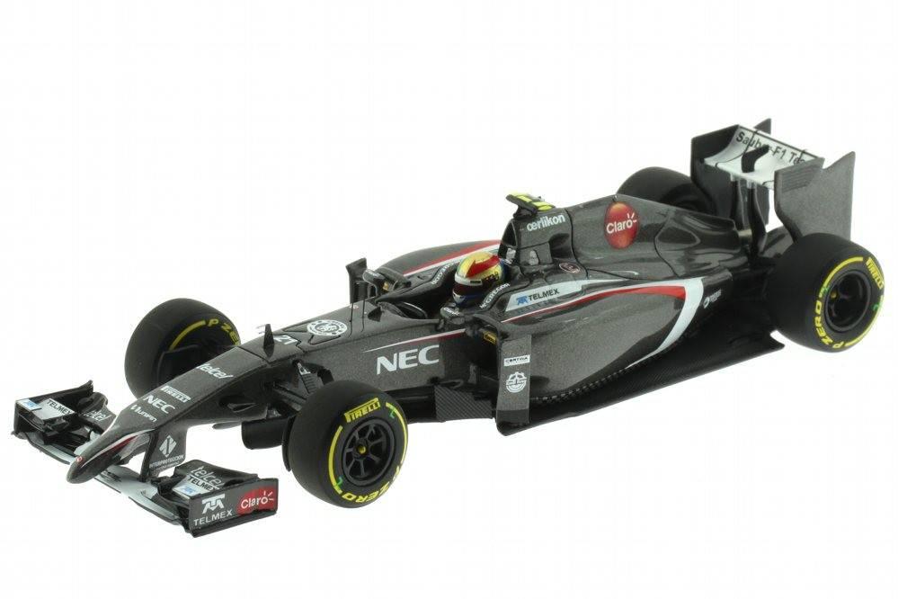 Sauber c33 ferrari f1 2014 e guti rrez minichamps for Cascos motogp altaya
