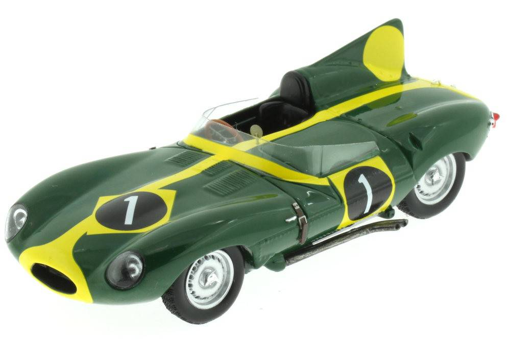 Jaguar d type suzuka 1963 francis spark escala 1 43 for Cascos motogp altaya