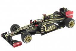 LOTUS Renault E20 Ganador GP F1 Abu Dhabi 2012 K. Räikkönen - Minichamps Escala 1:43 (410120209)