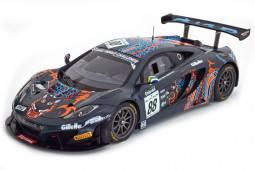 McLaren 12C GT3 24h Spa 2013 Barff / Goodwin / Senna - TrueScale Escala 1:18 (TSM141823R)