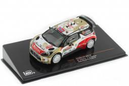 CITROEN DS3 WRC Rally Monte Carlo 2014 Ostberg / Andersson - Ixo Models Scale 1:43 (RAM566)