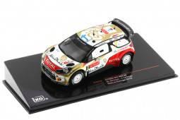 CITROEN DS3 WRC Rally Portugal 2013 Hirvonen / Lehtinen - Ixo Models Scale 1:43 (RAM550)