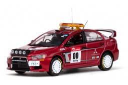 MITSUBISHI LANCER EVOLUTION X - nº00 Rally Japon - Zero car - H. Miyoshi / H. Ichino