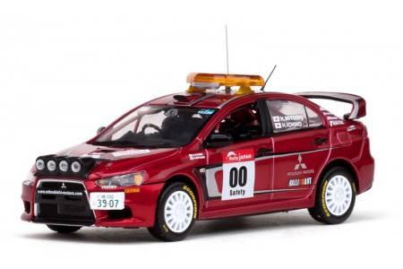 MITSUBISHI LANCER EVOLUTION X - nº00 Rally Japon 2007 - Zero car - H. Miyoshi / H. Ichino