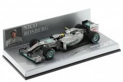 MERCEDES MGP W01 F1 2010 N. Rosberg - Minichamps Escala 1:43 (410100004)