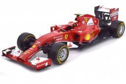 FERRARI F14 T Formula 1 2014 K. Raikkonen - HotWheels Escala 1:18 (BLY68)