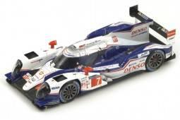 TOYOTA TS040 Hybrid Le Mans 2014 Wurz / Sarrazin / Nakajima - Spark Escala 1:43 (S4202)