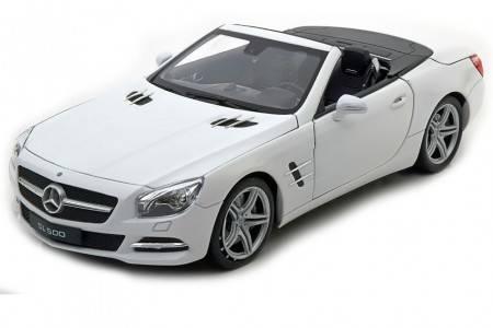 MERCEDES-Benz SL 500 Convertible 2012 - Welly Escala 1:18 (18046CW)