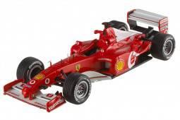 FERRARI F2002 GP F1 Francia 2002 M. Schumacher - Hot Wheels Elite Scale 1:43 (X5513)