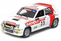 RENAULT 5 Turbo Tour de Corse 1986 Torre / La Fosta - Universal Hobbies Escala 1:18 (4545)