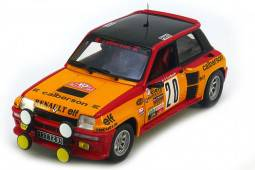 RENAULT 5 Turbo Rally Monte Carlo Saby / Le Saux - Universal Hobbies Escala 1:18 (4548)