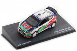 FORD Fiesta RS WRC Rally Sweeden 2011 Hirvonen / Lehtinen - Altaya Escala 1:43