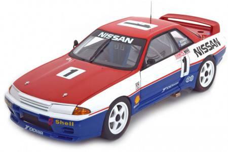 NISSAN Skyline GT-R (R32) Ganador Bathurst 1991 Richards / Skaife - AutoArt Escala 1:18 (89180)
