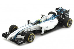 WILLIAMS FW36 Mercedes 2º GP F1 Abu Dhabi 2014 Felipe Massa - Spark Models Escala 1:43 (S3143)