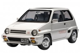HONDA City Turbo II + Motocompo 1981 - AutoArt Scale 1:18 (73281)