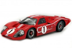 FORD GT40 MKIV Ganador 24h Le Mans 1967 D. Gurney / A.J.Foyt - Shelby Collectibles Escala 1:18 (Shelby423)