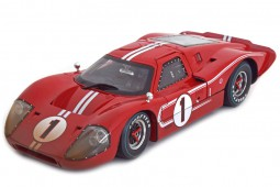 FORD GT40 MKIV Winner 24h Le Mans 1967 D. Gurney / A.J.Foyt - Shelby Collectibles Scale 1:18 (Shelby427)