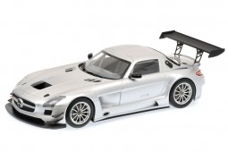 MERCEDES-Benz SLS AMG GT3 Plain Body 2011 - Minichamps Escala 1:18 (151113100)